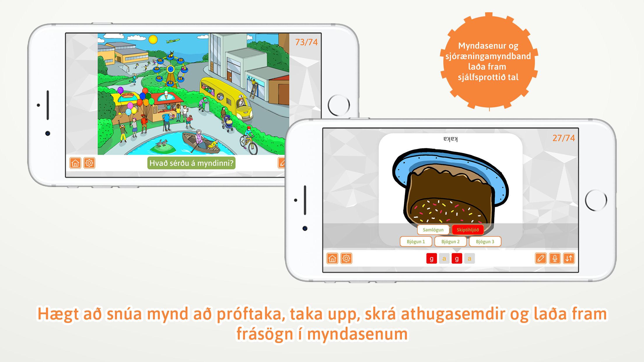 AppStore mynd af skiptihljóð